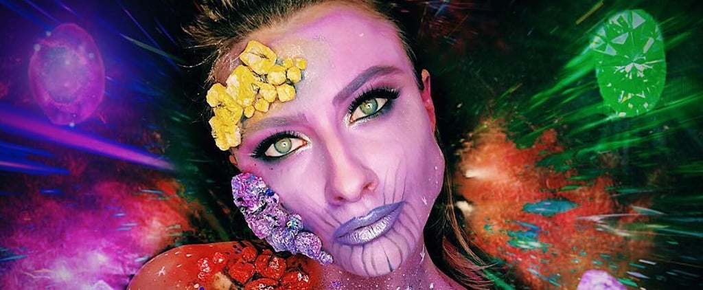 Thanos Makeup Ideas