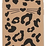 Kate Spade Silicone Cheetah Cat iPhone 7 Case / 8 Case