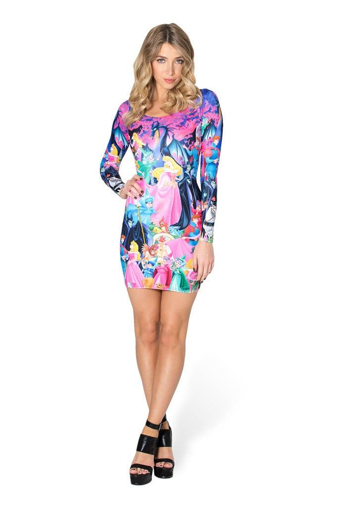 Sleeping Beauty Long Sleeve Dress ($104)