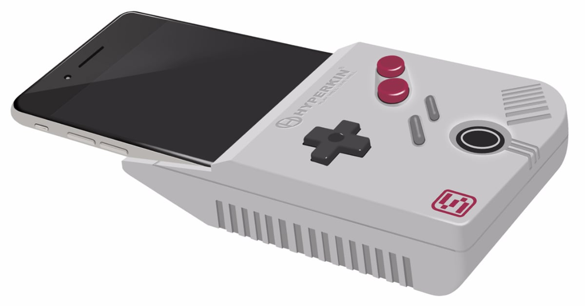 Hyperkin Smart Boy Turns The IPhone Into A Working Game Boy - Hyperkin smartphone gameboy