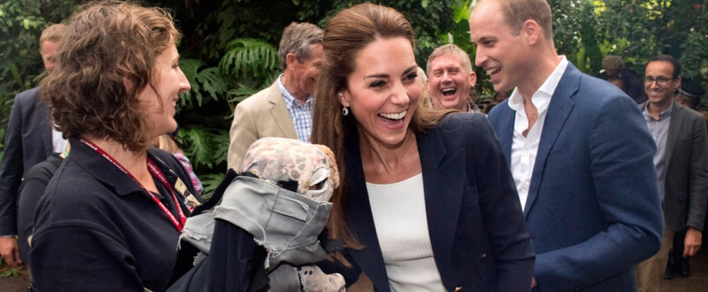 The Duke and Duchess of Cambridge's Latest Outing Includes a Very Creepy Toy Dinosaur​