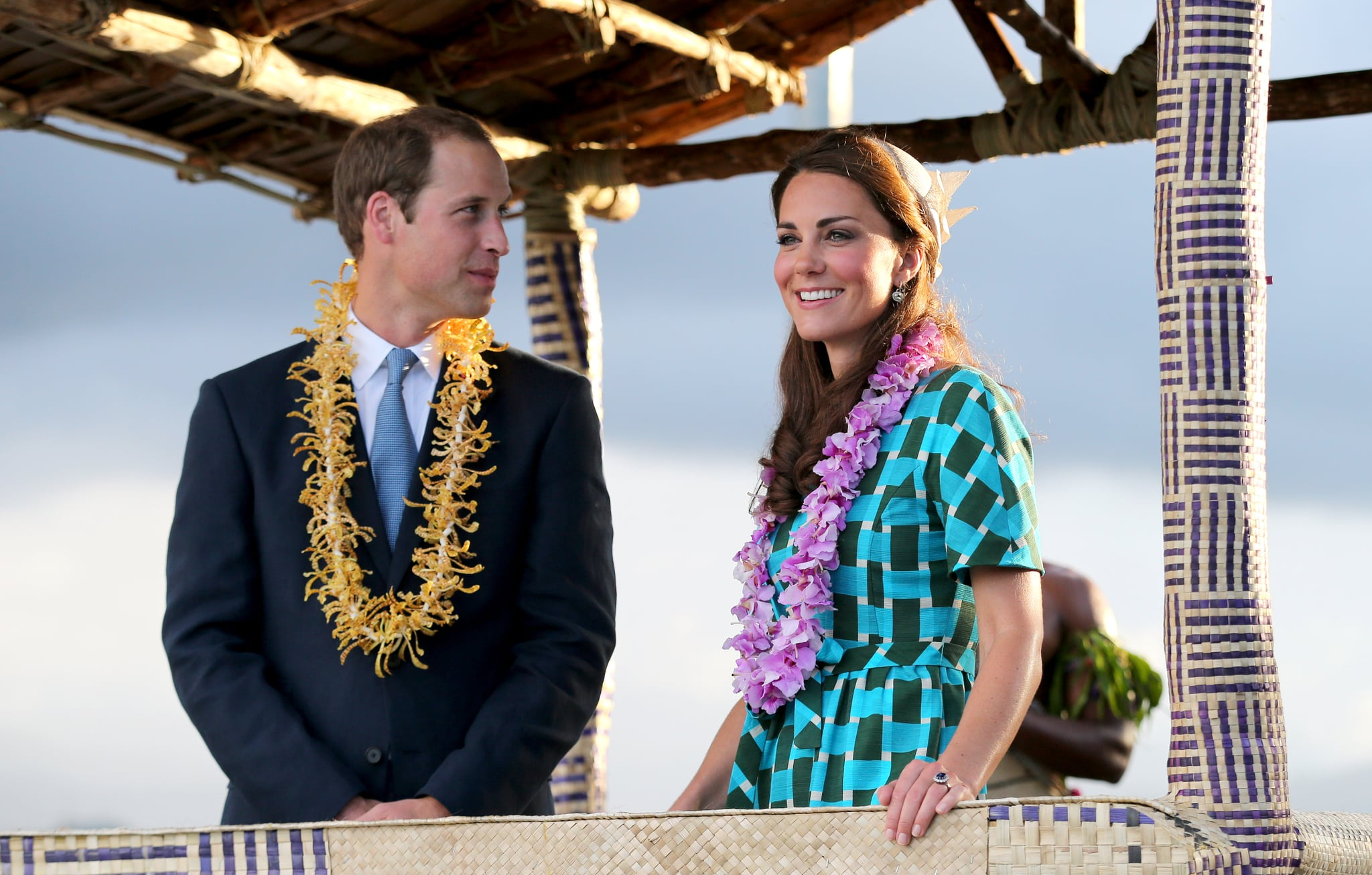 Will gave an adoring look to his wife on their 2012 Diamond Jubilee tour of the Far East.