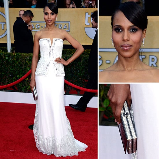 Kerry Washington: SAG Awards Red Carpet Dresses 2013