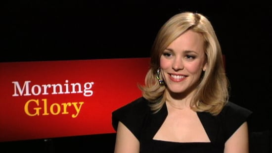 Video of Rachel McAdams Interview About Diane Keaton, Morning Glory, and More