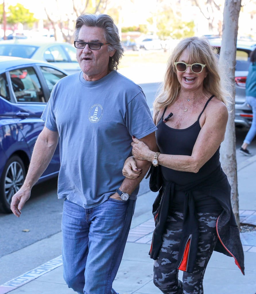 Goldie Hawn and Kurt Russell Out With Kate Hudson Nov. 2016