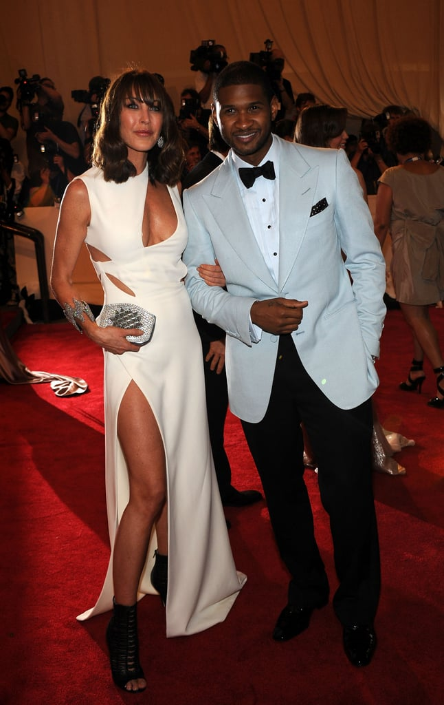 Tamara Mellon in Versace with Usher