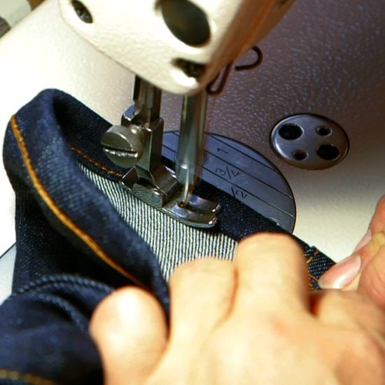How to Hem Your Jeans (Video)