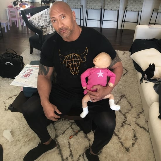 Dwayne Johnson Infant CPR Course