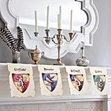 Hang Hogwarts House Banners