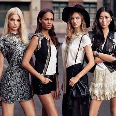 H&M Taps Model Off-Duty Style for The New Icons Look Book