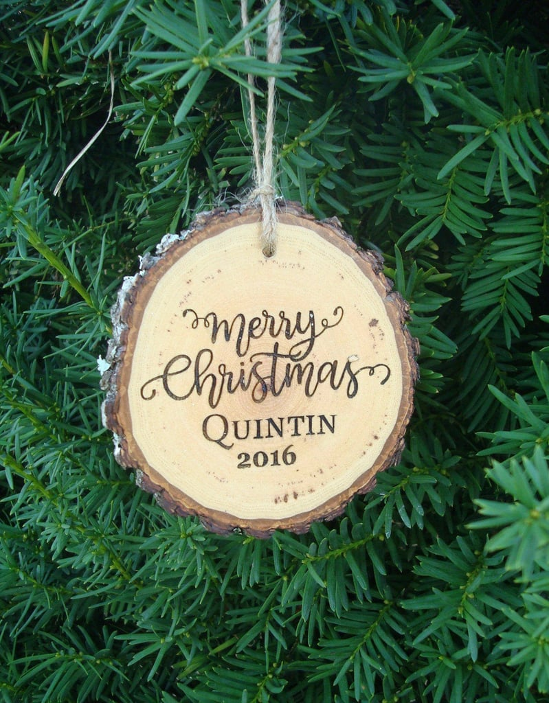 personalized christmas ornaments for kids and families