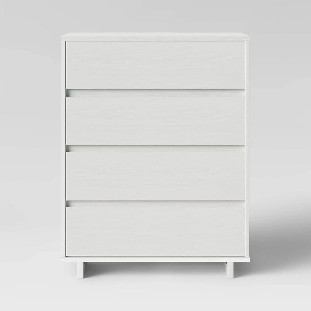 Room Essentials Modern 4 Drawer Dresser