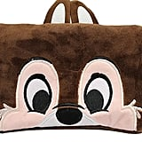 Disney's Chip Face Plush Cosmetic Bag
