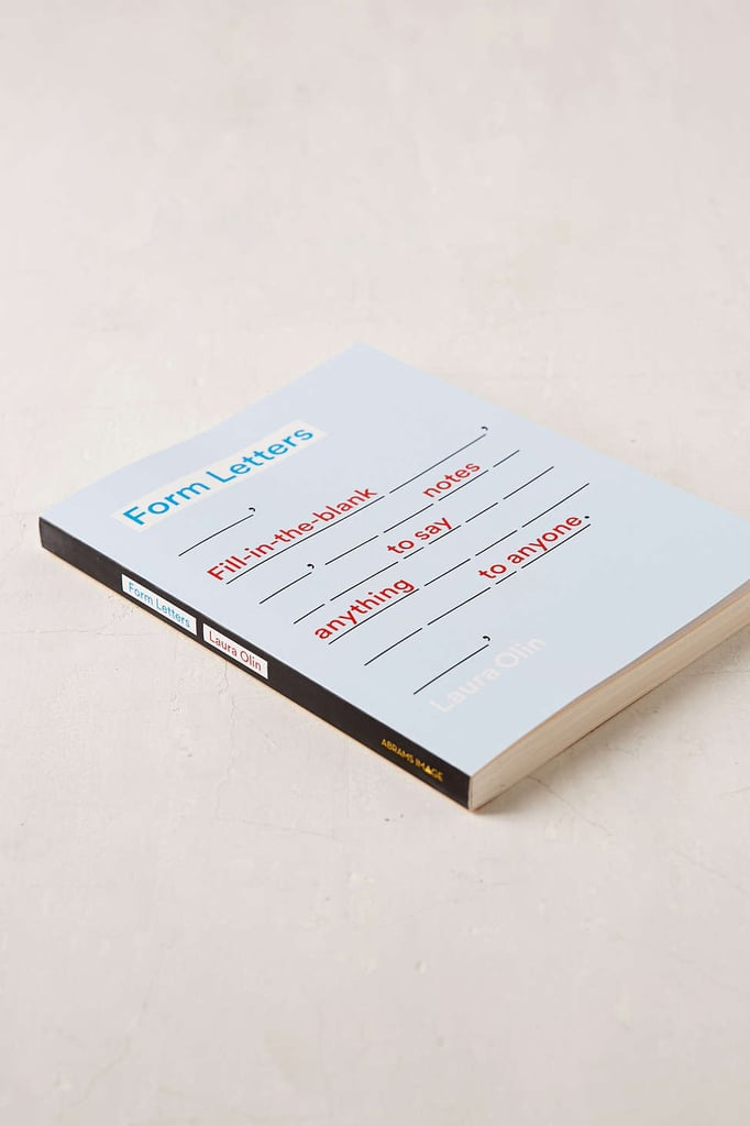 Form Letters by Laura Olin, $19.84