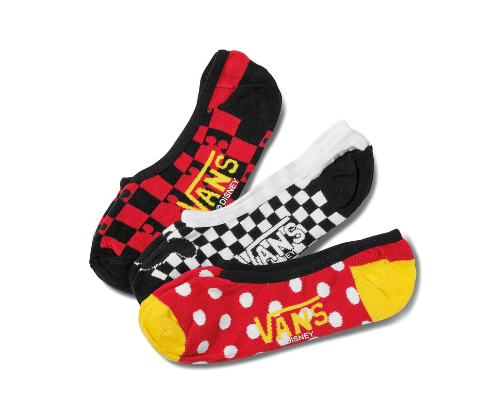 3057a24c92 Disney x Vans Mickey Mouse's 90th Canoodle Socks 3 Pack | Disney ...
