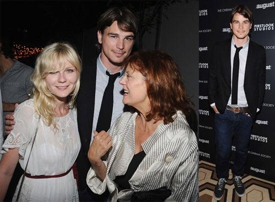 Photos of Josh Hartnett, Kirsten Dunst, Susan Sarandon at NYC Screening of August