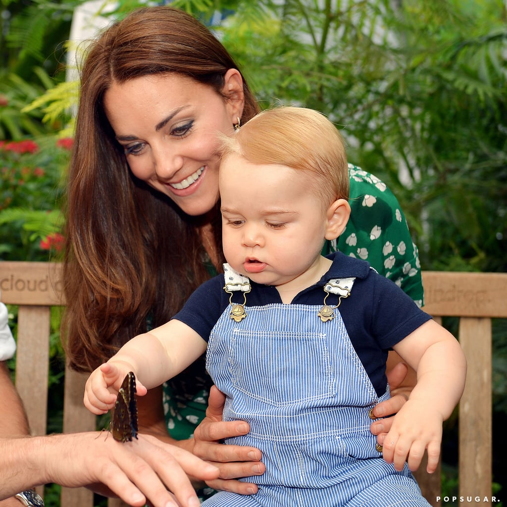 Kate celebrated Prince George's first birthday with an adorable photo shoot at London's Natural History Museum in June.