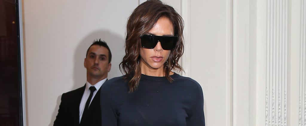 Victoria Beckham's Sweater Seems Totally Casual, Until You Zoom In on the Stitching