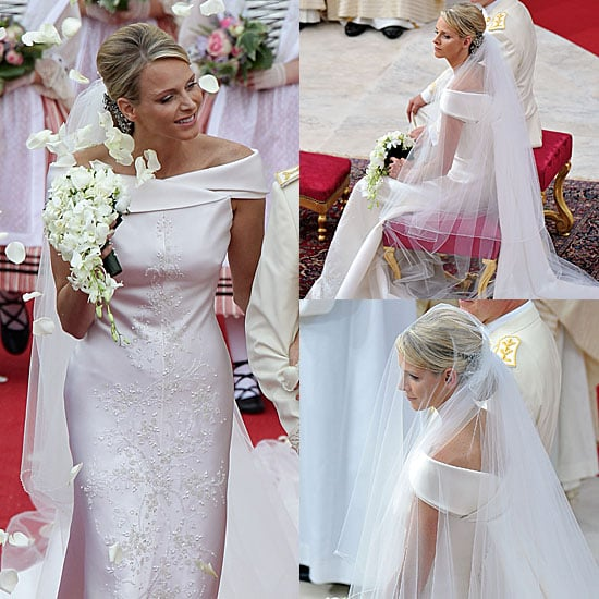 Princess Charlene of Monaco Wedding Dress