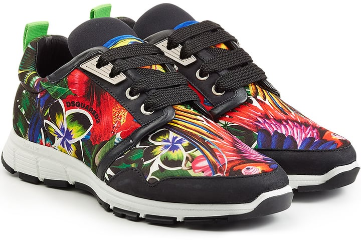 DSQUARED2 Graphic Print Trainers