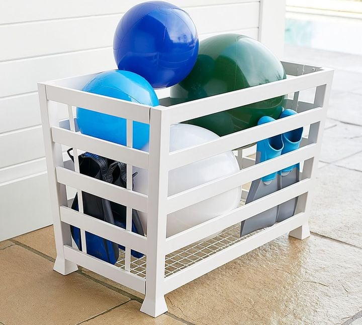 Malibu Pool Accessory Storage Bin ($249)