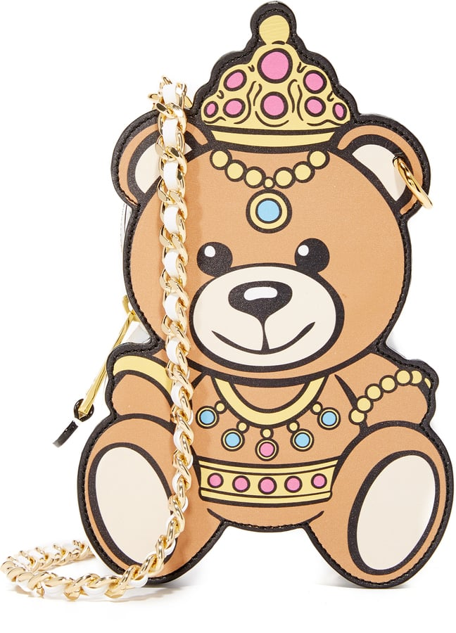 The Moschino Little Bear Bag ($850) looks like a friggin' toy — and we're into it.