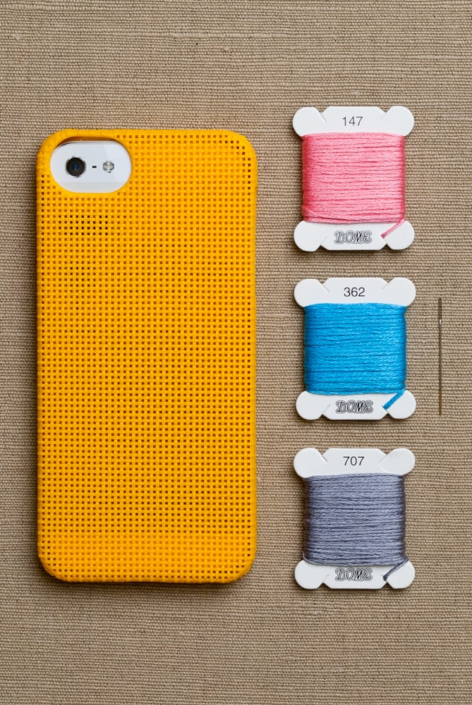 Leese Design iPhonCross Stitch Case