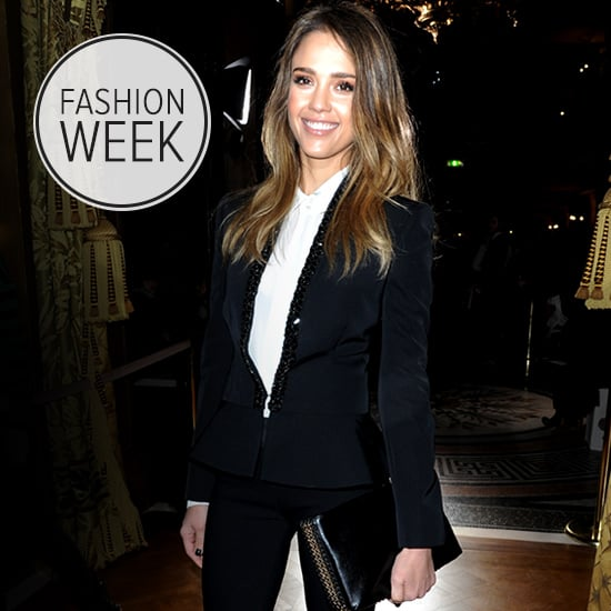 Jessica Alba's Paris Fashion Week Outfits 2013