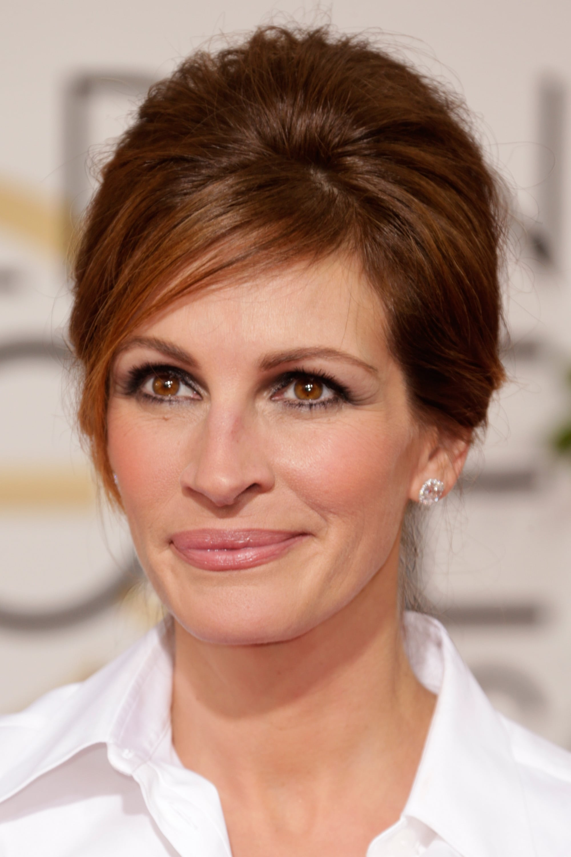 Julia Roberts S Hair By Serge Normant Golden Globes 2014