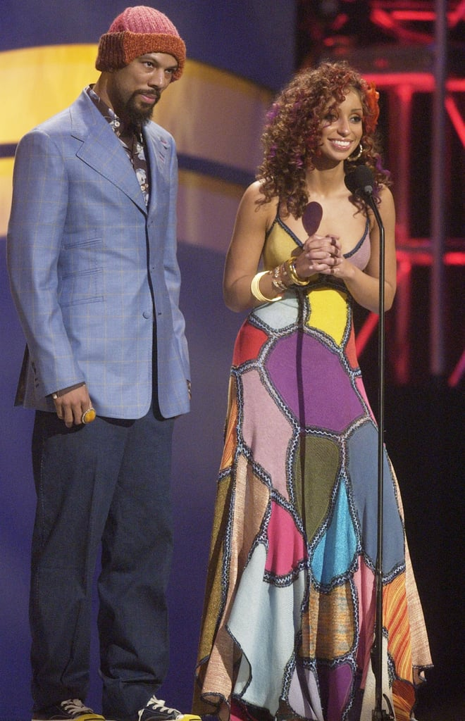 Common and Mya presented an award together in 2003.