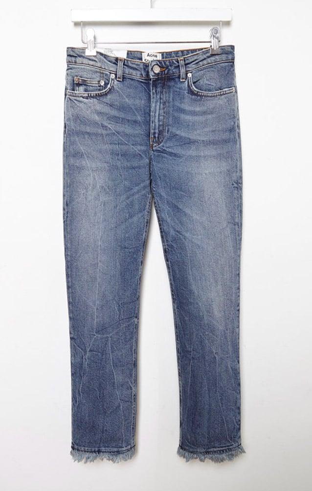 Acne Studios 'Row' Fringe Jean ($300)