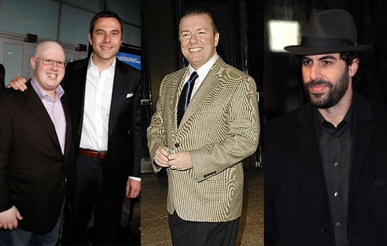 Pop Poll On Channel 4's New Heroes Of Comedy Matt Lucas, David Walliams, Ricky Gervais And Sacha Baron Cohen