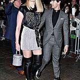 Joe Jonas and Sophie Turner at Paris Fashion Week 2018