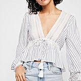 Free People Oberoi Striped Top