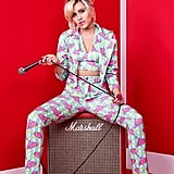 Miley Keeps Coordination in Mind