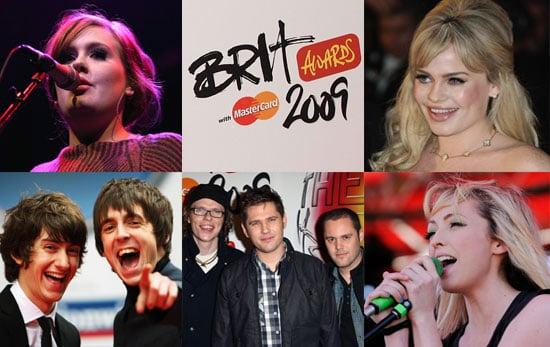 2009 Brit Awards — Best British Breakthrough Act Nominees