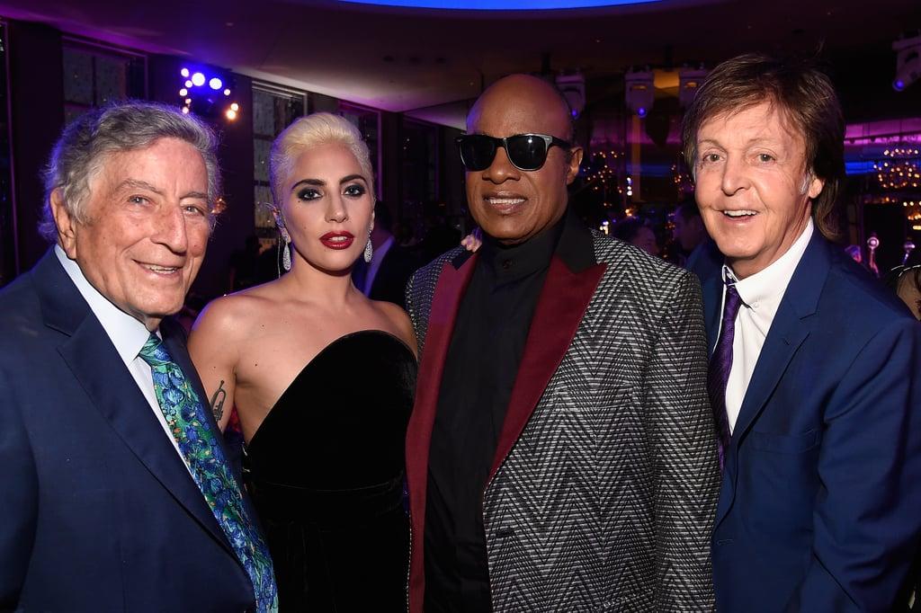 Lady Gaga at Tony Bennett's 90th Birthday Party