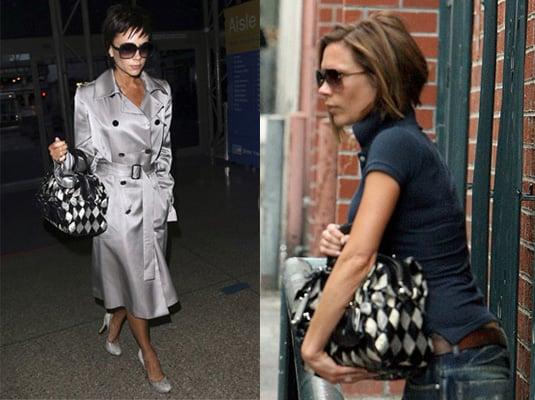 Dolce and Gabbana, Victoria Beckham, Harlequin bag