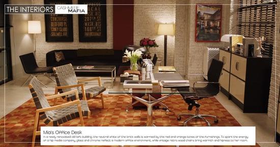 Get the Look: Cashmere Mafia Mia's Office