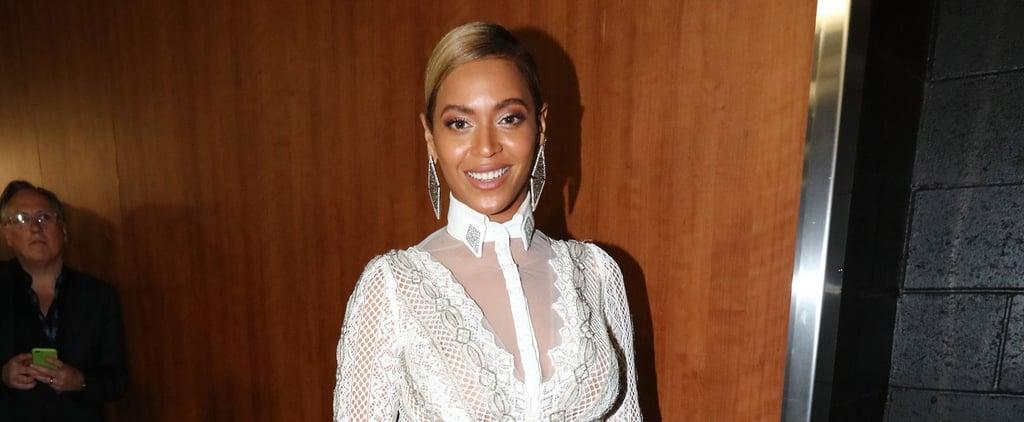 Beyoncé Actually Wore a Wedding Dress to the Grammys