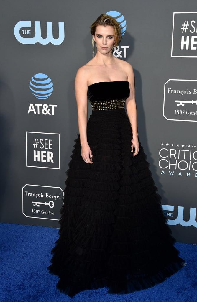 Betty Gilpin at the 2019 Critics' Choice Awards