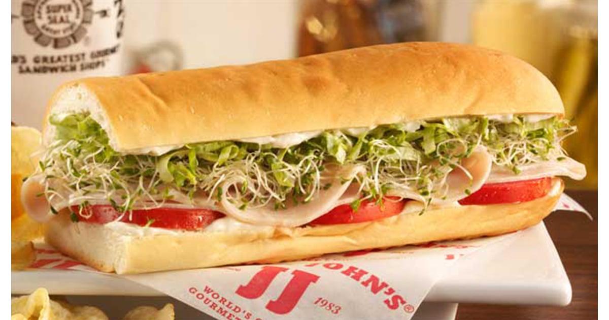 Turkey Tom   Healthiest Orders at Jimmy John's   POPSUGAR ...