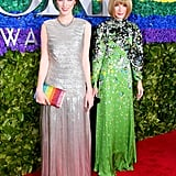 Bee Shaffer Carrozzini and Anna Wintour