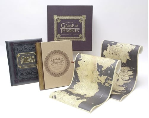 Inside HBOs Game of Thrones: The Collector's Edition Box Set and Exclusive Signed Book Plate ($150)