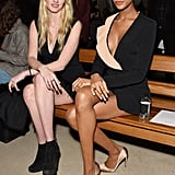 Lara Stone and Jourdan Dunn