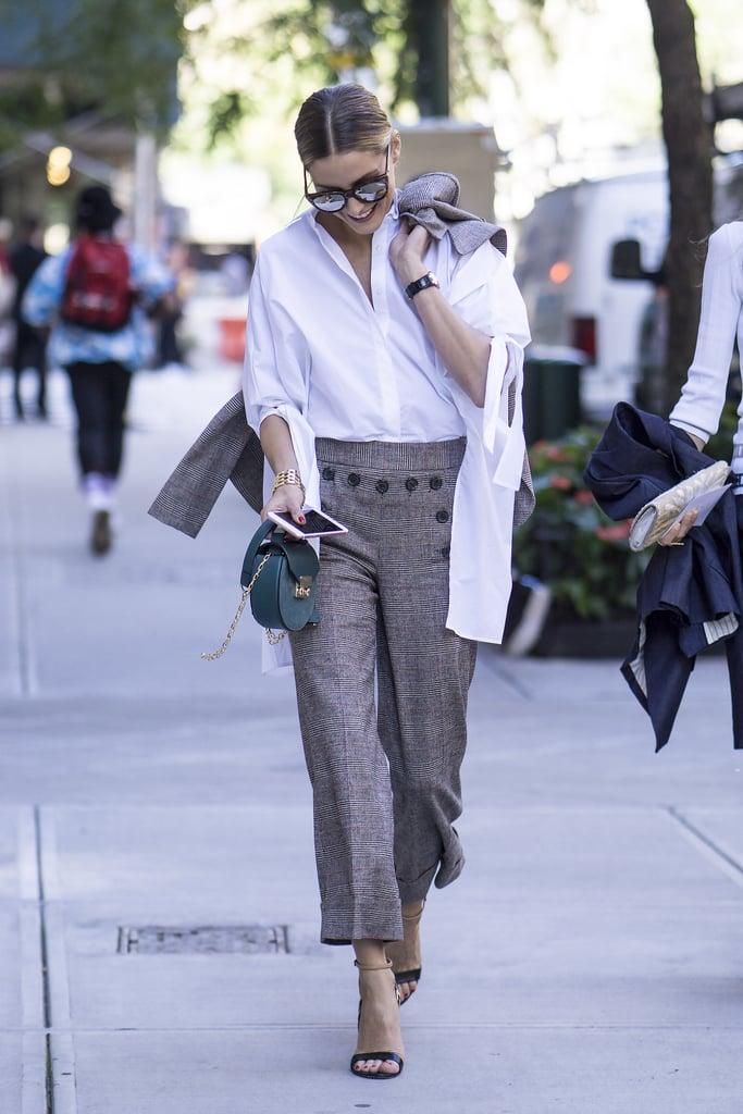 Olivia Palermo at New York Fashion Week Spring 2017