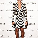 Solange Knowles wore Fall 2013 Jill Stuart at The Great Gatsby's private screening in New York. Source: Matteo Prandoni/BFAnyc.com