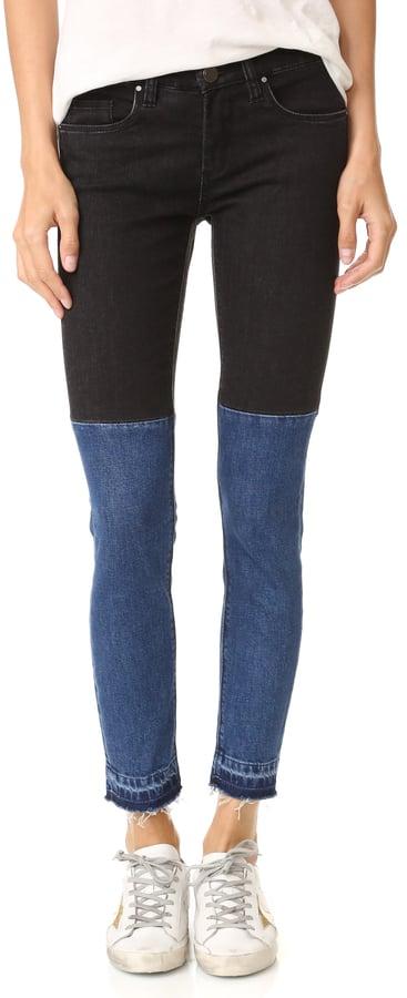 Blank NYC Two Tone Raw Hem Jeans ($88)