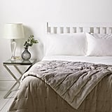 John Lewis Croft Collection Velvet Bedspread