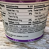 Nutritional Information For Trader Joe's Vanilla Bean Almond Milk Yoghurt